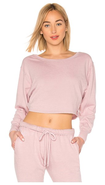 Free People movement zuma sweatshirt in pink