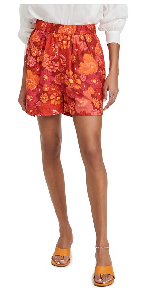 Free People palo duro shorts in multi combo