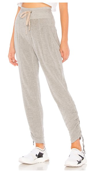 Free People movement ready go pant in grey combo