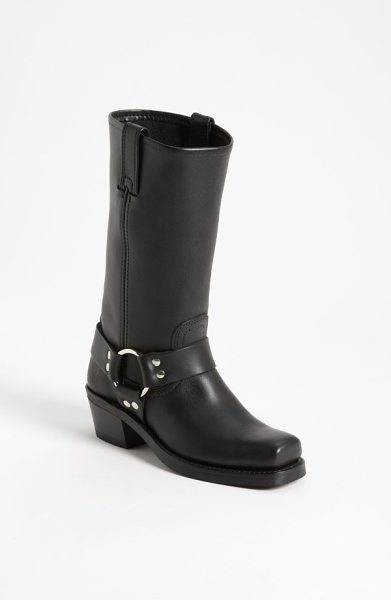 Frye 'harness 12r' leather boot in black