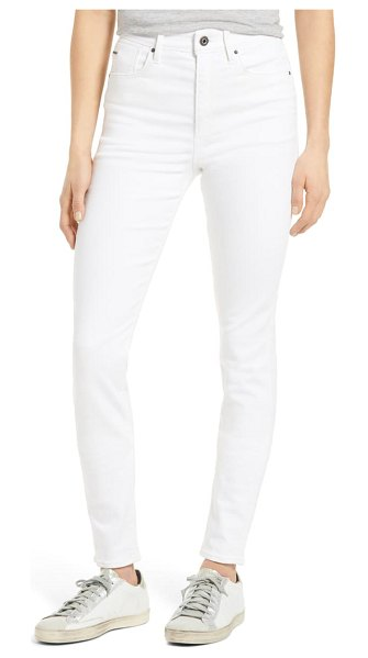 G-Star RAW kafey high waist skinny jeans in white