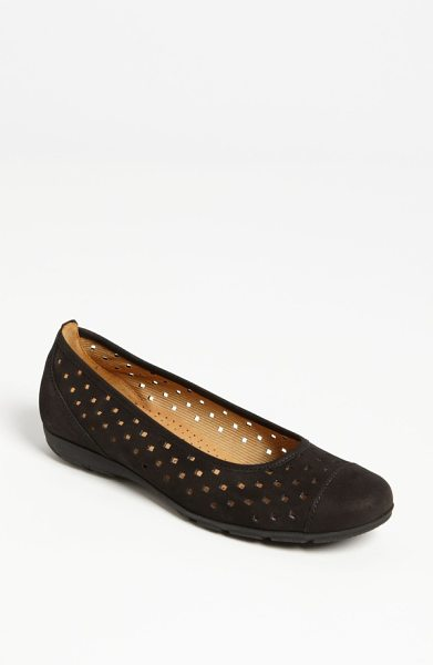 Gabor ballet flat in black