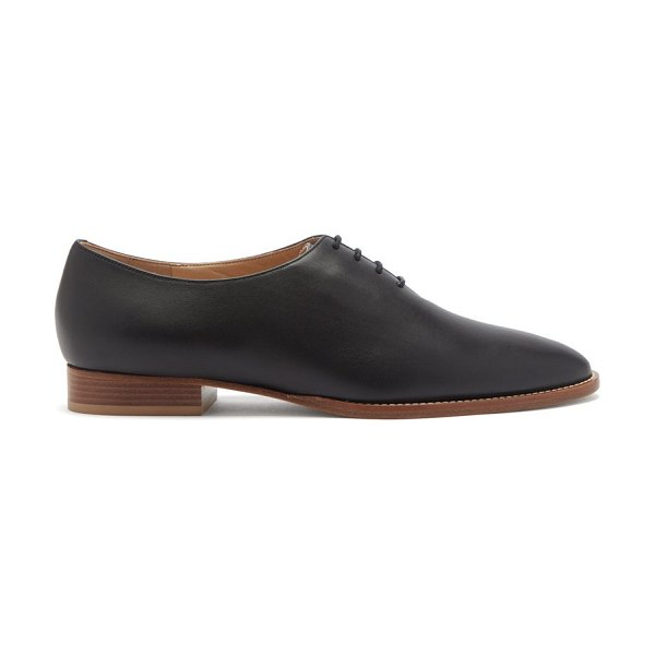GABRIELA HEARST collins leather derby shoes in black