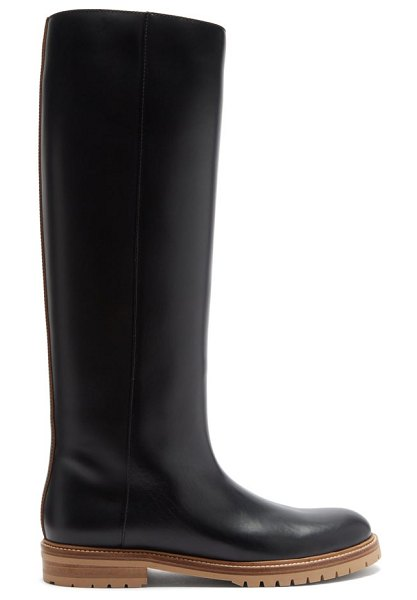 GABRIELA HEARST howard knee-high leather boots in black