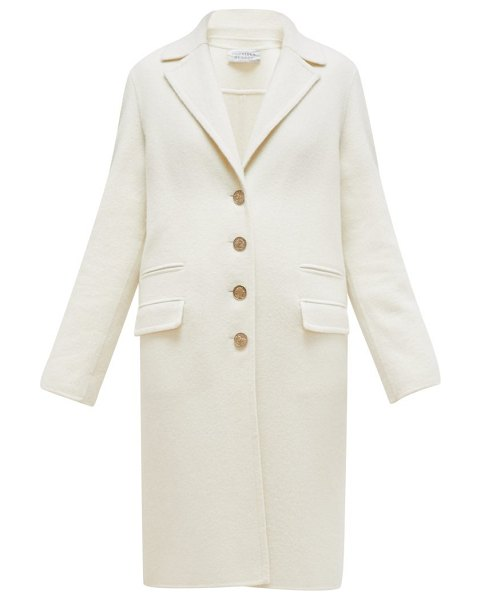 GABRIELA HEARST julio cashmere cocoon coat in ivory
