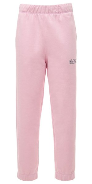Ganni Software isoli printed sweatpants in lilac