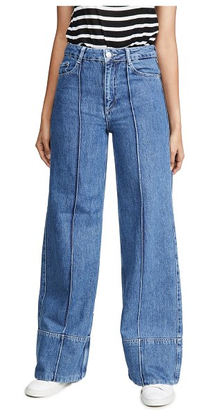 Ganni suit denim jeans in denim