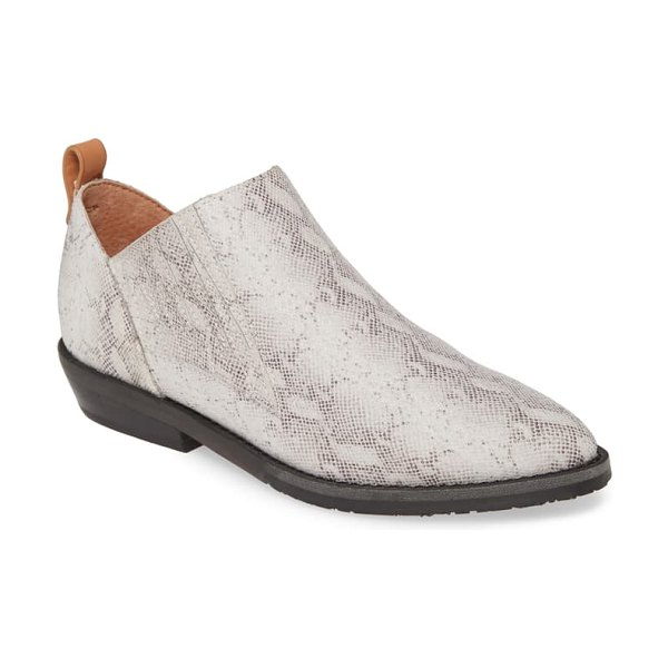 Gentle Souls by Kenneth Cole neptune bootie in white multicolor leather