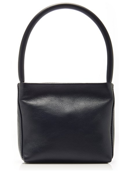 Georgia Jay baby ombra shoulder bag in navy