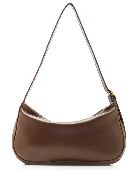 Georgia Jay baguette shoulder bag in brown
