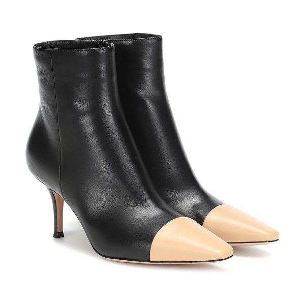 Gianvito Rossi exclusive to mytheresa – lucy leather ankle boots in black