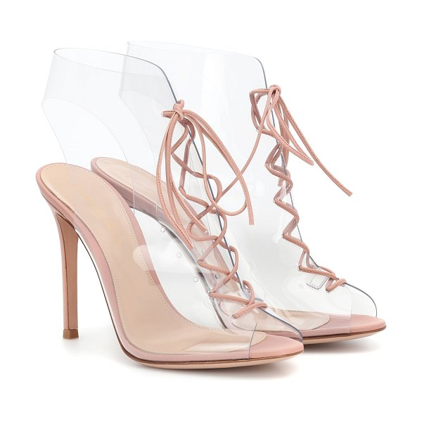 Gianvito Rossi Helmut ankle boots in pink - Contemporary cool emanates from Gianvito Rossi's...