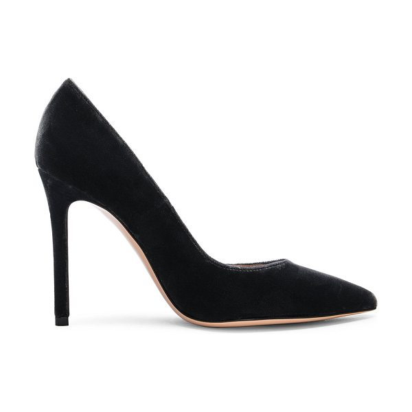 Gianvito Rossi Velvet Pumps in gray - Velvet upper with leather sole.  Made in Italy.  Approx...