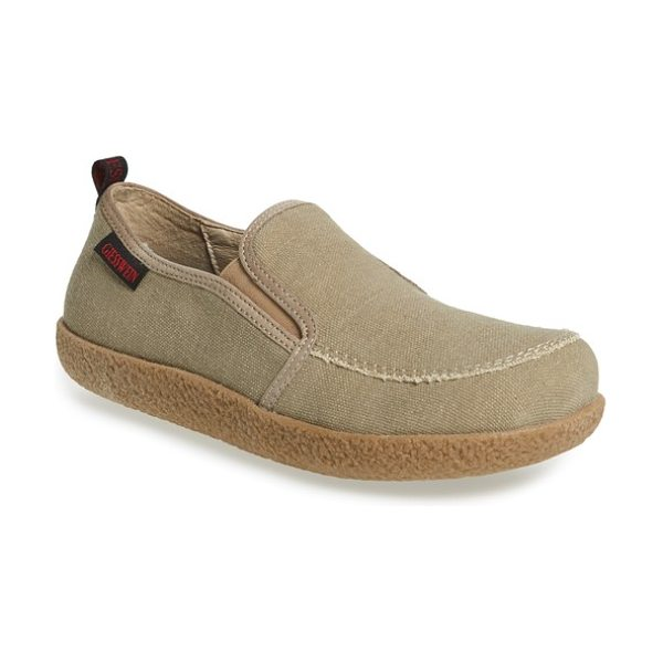 GIESSWEIN reith loafer - Structured canvas shapes a comfortably casual loafer...
