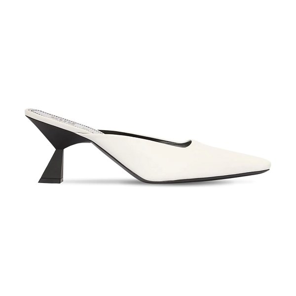 Givenchy 70mm leather mules in white