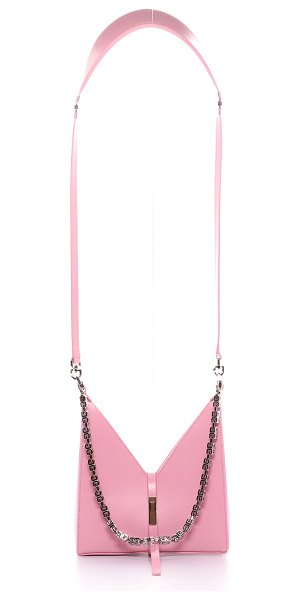 Givenchy Cutout Mini Shoulder Bag with Chain in 661 baby pink