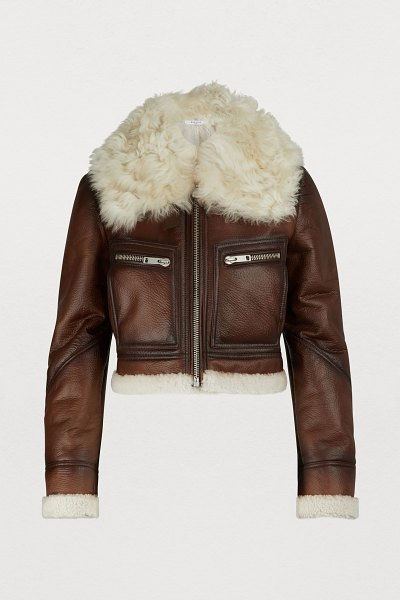 Givenchy Jacket in marron/blanc