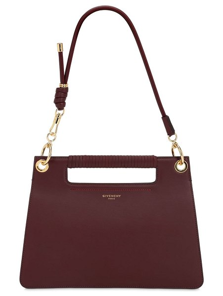 Givenchy Medium whip smooth leather bag in bordeaux