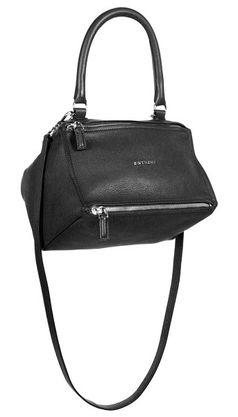 Givenchy small pandora leather crossbody bag in black