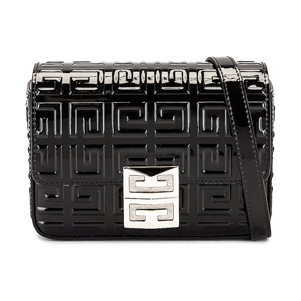Givenchy small 4g crossbody bag in black