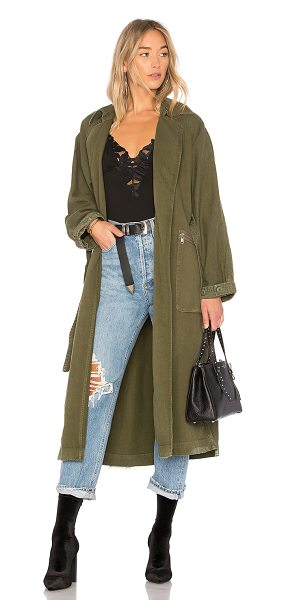 GRLFRND Donna Trench Coat in olive - A coat for every season: GRLFRND's Donna Trench. This...
