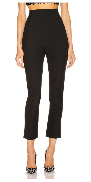 GRLFRND power hi waist cigarette pant in black