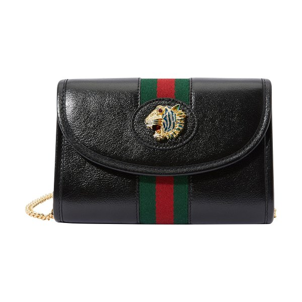 Gucci GG %armont handbag in black /red