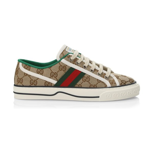 Gucci gg tennis new ace sneakers in beige