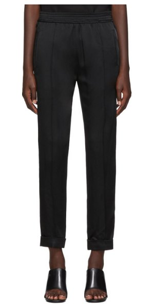 Haider Ackermann kuiper elastic waistband trousers in black