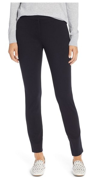 Halogen halogen ponte skinny pants in black - Pants destined to stay at the front of your closet are...