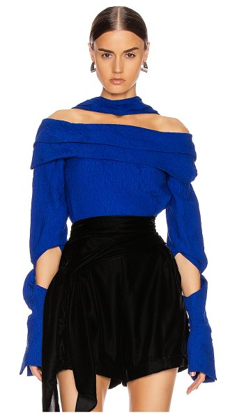 Hellessy bianca top in blue