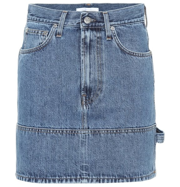 Helmut Lang denim miniskirt in blue