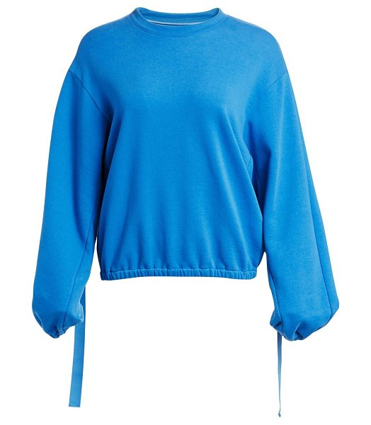 Helmut Lang vintage terry cotton sweatshirt in balloon,ink