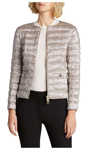 Herno Lurex Fitted Jacket in 9409