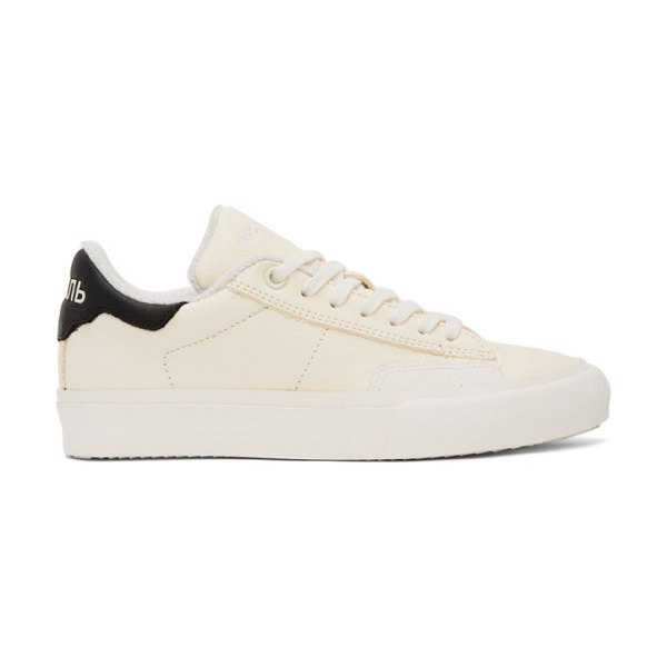 Heron Preston off- and black style vulcanized sneakers in white