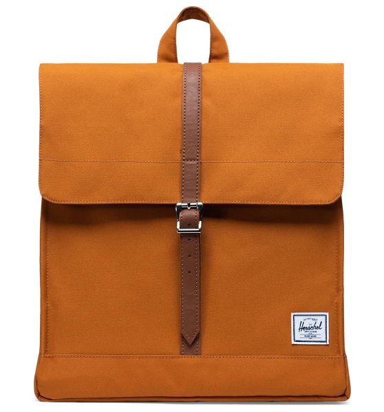 Herschel Supply Co. city mid volume backpack in pumpkin spice