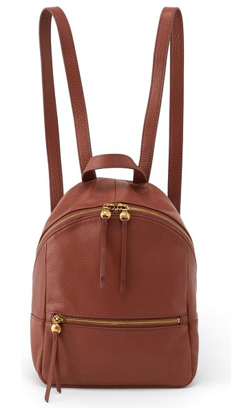 Hobo cliff leather backpack in toffee