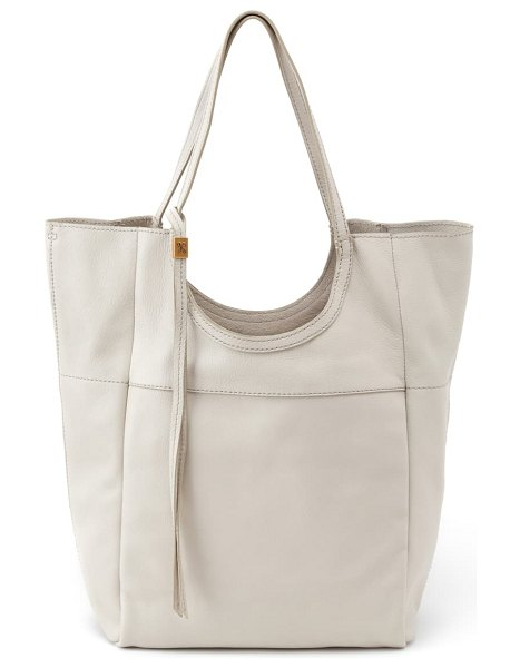 Hobo native leather tote in dew
