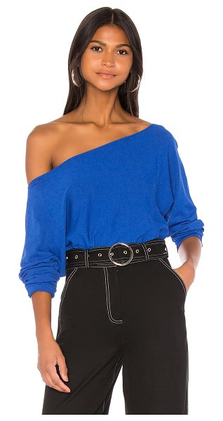 h:ours sera sweater in cobalt blue