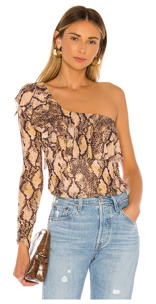 House of Harlow 1960 x revolve flora top in python multi