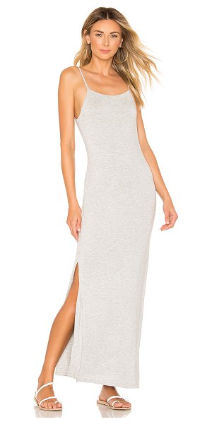 House of Harlow 1960 x REVOLVE Katie Dress in light gray - 95% bamboo 5% elastane. Hand wash cold. Fully lined....