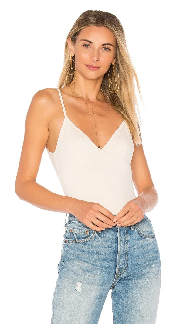 HOUSE OF HARLOW 1960 x REVOLVE Leona Bodysuit - 92% rayon 8% elastane. Hand wash cold. Adjustable shoulder...