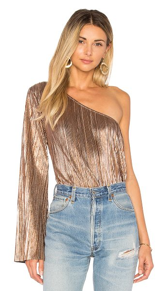 HOUSE OF HARLOW 1960 x REVOLVE Ross Top - 100% poly. Hand wash cold. One shoulder styling. Metallic...