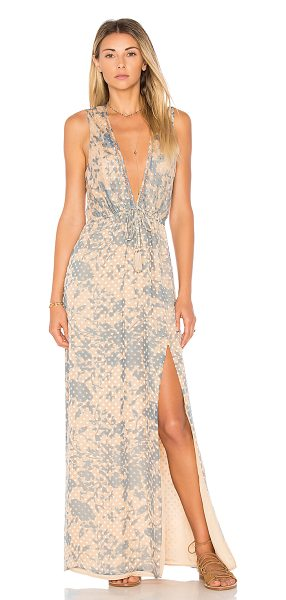 House of Harlow 1960 x REVOLVE Wilton Dress in nude - Self: 80% rayon 20% silkLining & Trim: 100% poly. Dry...
