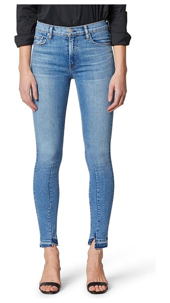 Hudson barbara high waist released hem skinny jeans