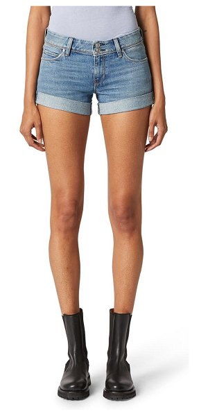 Hudson croxley cuff denim shorts in bitter