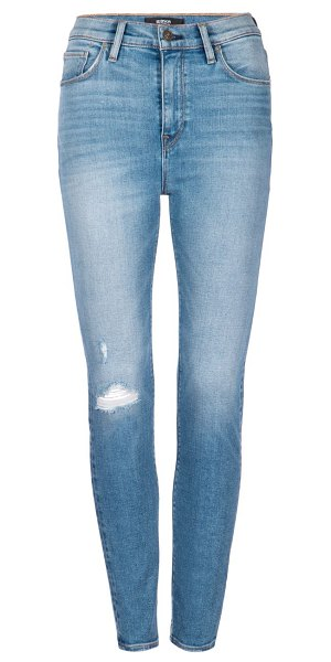 Hudson holly high-rise skinny ankle jeans in stay