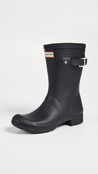 Hunter original tour short boots in black