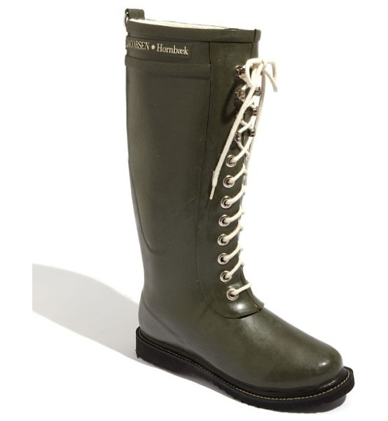 Ilse Jacobsen rubber boot in army