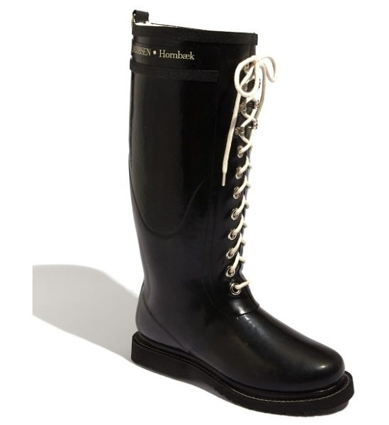 Ilse Jacobsen rubber boot in black